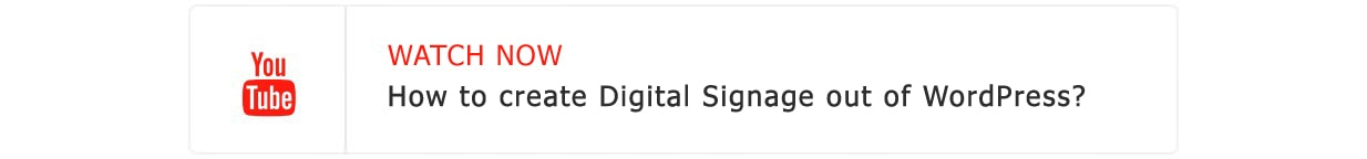Digitalsignagepress Pro - Digital Signage WordPress Plugin - 1