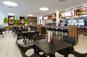 Digital Signage for Fast Food and Retail