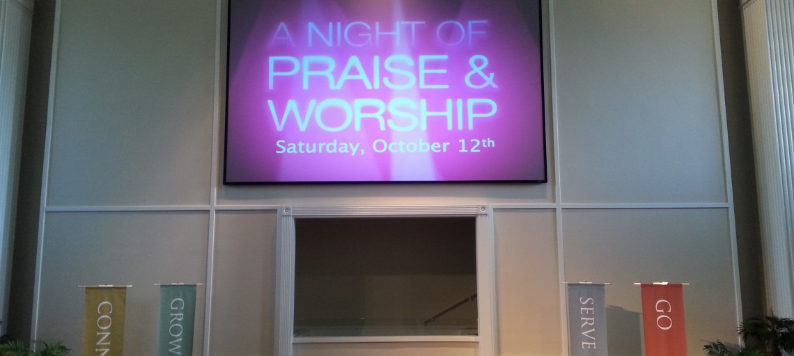 Digital Signage for the Modern Church