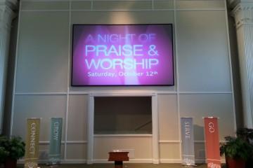 Digital Signage for Church