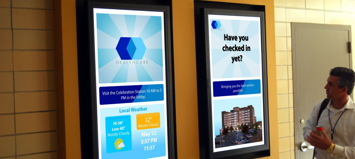Digital Signage for Healthcare